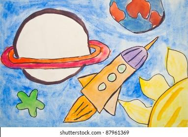 kids artwork images stock photos vectors shutterstock