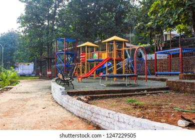 kids park background