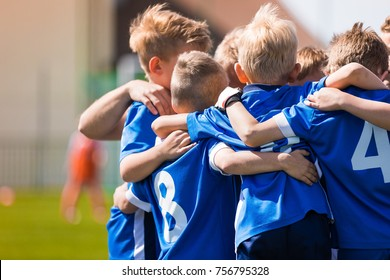 Kids Play Sports. Children Sports Team United Ready to Play Game. Children Team Sport. Youth Sports For Children. Boys in Sports Uniforms. Young Boys in Soccer Sportswear