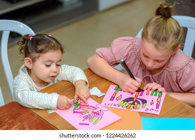 Kids Play With Stickers. Playing with stickers can help child on important developmental areas! Neat Pincer Grasp, Bilateral Hand Coordination, Visual Scanning,Spatial Awareness,Sensory Exploration.