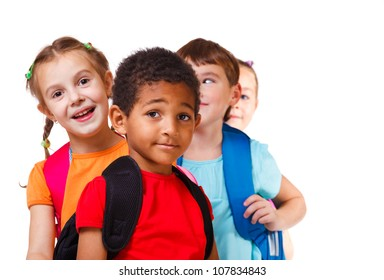 Kids ready back to school