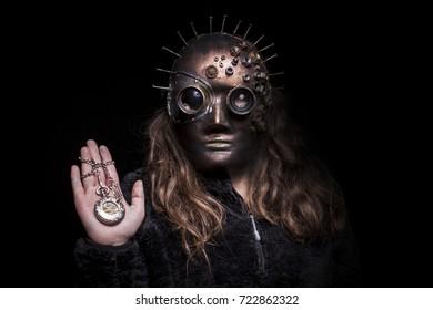 kids self made mask