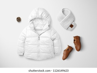 Kids Winter Set Mockups