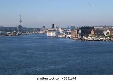 Kiel in Schleswig-Holstein in Germany