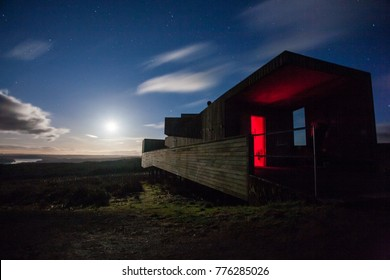Kielder Observatory beneath the stars in Northumberland's designated Dark Sky site for stargazing and astrology