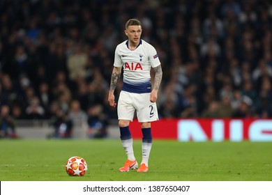 Kieran Trippier of Tottenham Hotspur - Tottenham Hotspur v Ajax, UEFA Champions League Semi Final - 1st Leg, Tottenham Hotspur Stadium, London - 30th April 2019