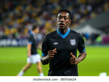 KIEV, 24 June 2012 - Danny Welbeck (England) during a UEFA EURO 2012 match against at the Olympic Stadium in Kiev, Ukraine.