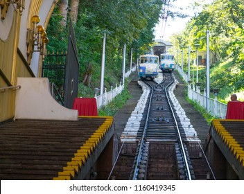 The Kiev funicular has resumed its work, August 20, 2018