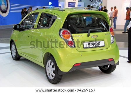 Kiev September 10 Chevrolet Spark Yearly Stock Photo Edit Now