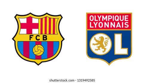 fc barcelona logo images stock photos vectors shutterstock https www shutterstock com image photo kiev ukraine february 20 2019 fc 1319492585