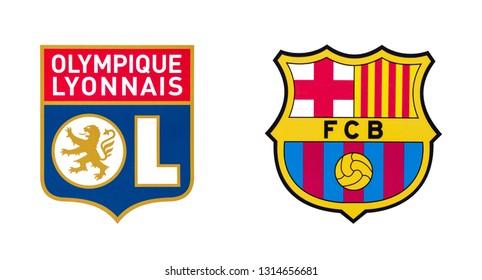Barcelona Soccer Logo Images Stock Photos Vectors Shutterstock