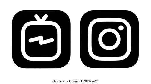 Instagram Logo Black Images Stock Photos Vectors Shutterstock