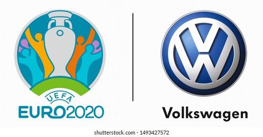 euro 2020 images stock photos vectors shutterstock https www shutterstock com image photo kiev ukraine june 18 2019 uefa 1493427572