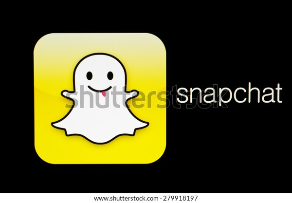 Kiev Ukraine May 21 2015 Snapchat Stock Photo (Edit Now