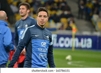KIEV UKRAINE NOV 15 Samir Nasri Stock Photo (Edit Now