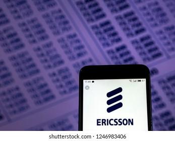 Ericsson Logo Images, Stock Photos & Vectors | Shutterstock