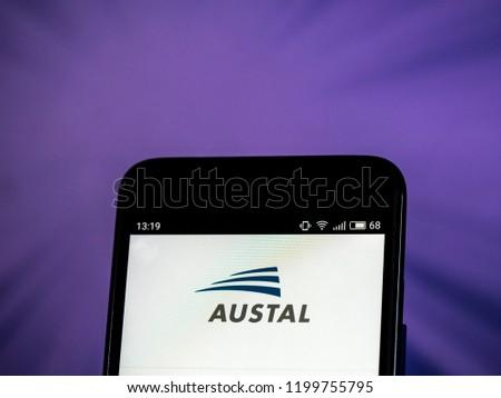 KIEV UKRAINE Oct 10 2018 Austal Stock Photo (Edit Now