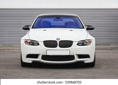 Kiev, Ukraine; October 17, 2016; BMW M3 (E92). Editorial photo.