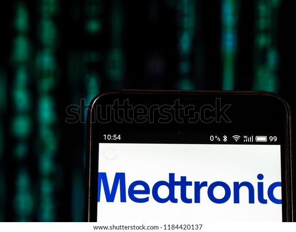 Kiev Ukraine Sept 13 2018 Medtronic Stock Photo (Edit Now
