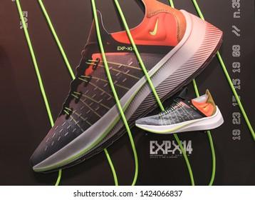76ce2972 Nike Air Max Shoes Ukraine Kiev Stock Photo (Edit Now) 766679929 ...