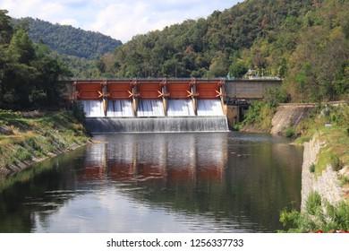 Kiew Lom Dam, Lampang, Thailand