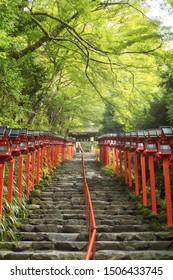 Kifune shrine (Kifune-jinja) of Kyoto, Japan.