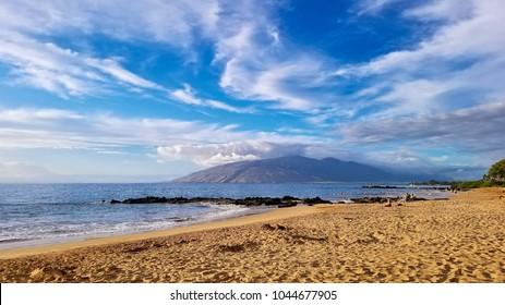 Kihei Beach in Maui