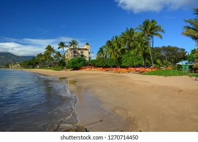 Kihei Beach. Maui, Hawaiian Islands