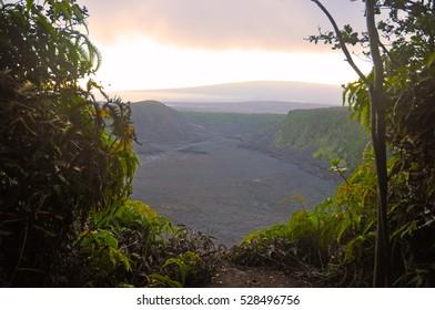 Kilauea Volcano in Big Island Hawaii