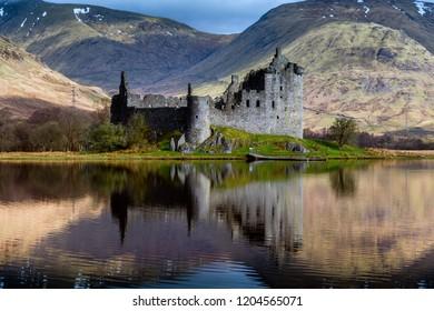 Kilchurn Castle, Dalmally, Scotland.