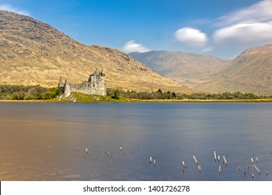 Kilchurn Castle at Loch Awe in the Highlands of Scotland