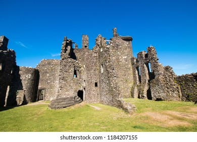 kilchurn castle is a ruined structure on a rocky peninsula at the northeastern end of Loch Awe scotland united kingdom europe