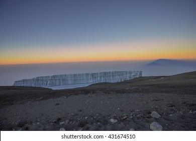 kilimandjaro glacier