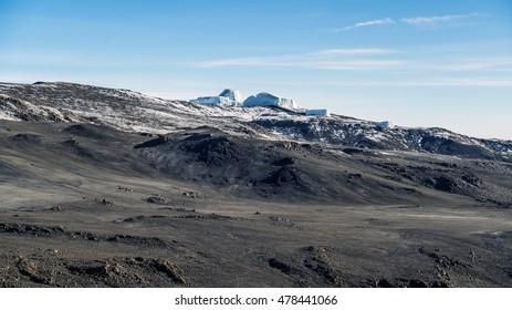 Kilimanjaro Glacier/ Crater