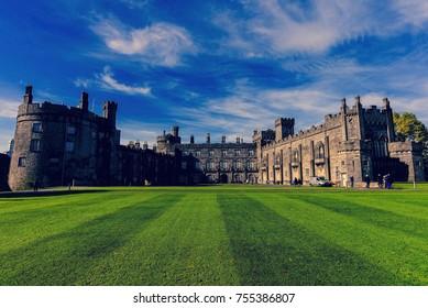 Kilkenny castle, Kilkenny / Ireland Oct 12th, 2017