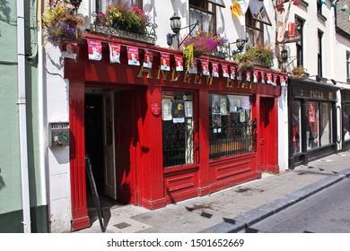 Kilkenny / Ireland - 02 Aug 2013: The vintage shop, Kilkenny, Ireland