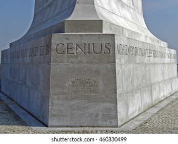Kill Devil Hills, USA - June 7, 2008: Wright Brothers National Memorial located in Kill Devil Hills (North Carolina, USA) with the famous landmarks of Wilbur and Orville Wright