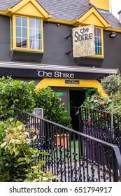 Killarney, Ireland -  April 2017 : The Shire pub in Killarney in Ireland