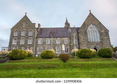 Killarney, Ireland. October 2, 2018. Irish Franciscans Churh