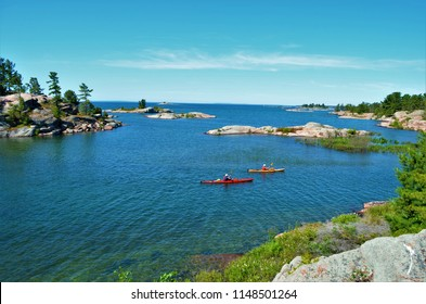 Killarney Provincial Park is dubbed as the Jewel of all of Ontario Parks with trails that takes you to the beauty of Georgian Bay with red rocks and wind blown pines.