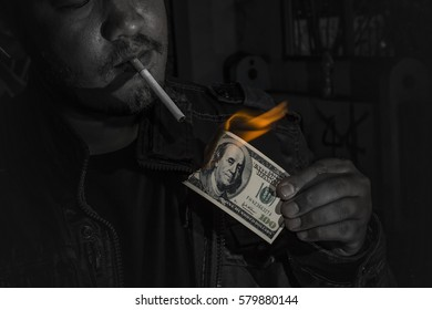 The killer is using the dollars from the business comfortably dark cigarette.