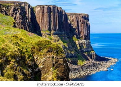 Kilt Rock is a sea cliff in north east Trotternish on the Isle of Skye..