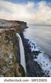 Kilt Rock Waterfall, Isle of Skye, Scotland, 12th January 2017