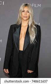 Kim Kardashian at the 2017 LACMA Art + Film Gala Honoring Mark Bradford And George Lucas held at the LACMA in Los Angeles, USA on November 4, 2017.