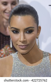 Kim Kardashian attends the De Grisogono Party at the annual 69th Cannes Film Festival at Hotel du Cap-Eden-Roc on May 17, 2016 in Cap d'Antibes, France.