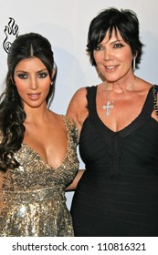 Kim Kardashian and Kris Jenner at Celebrity Catwalk for Charity. The Highlands Nightclub, Hollywood, CA. 08-16-07