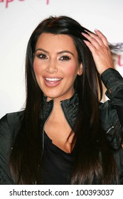 Kim Kardashian at a press conference to announce a Global Partnership With Kim Kardashian And Kris Jenner, Beverly Wilshire, Beverly Hills, CA. 11-22-10