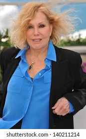 Kim Novak at photocall at the 66th Festival de Cannes where she was being honored. May 25, 2013  Cannes, France