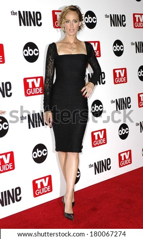 Kim Raver At ABC TV Guide Host The Premiere Of THE NINE Los Angeles
