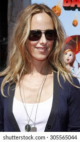 "Kim Raver at the Los Angeles Premiere of ""Cloudy With A Chance Of Meatballs"" held at the Mann Village Theater in Westwood, California, United States on September 12, 2009."